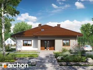 Projekt domu ARCHON+ Dom v jonagoldách 2